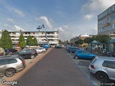 Ambulance naar Bosplein in Katwijk