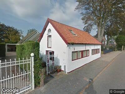 Ambulance naar Burgemeester Letteweg in Oostvoorne