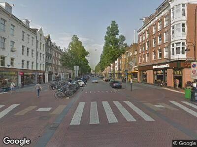 Traumahelikopter naar Dapperstraat in Amsterdam