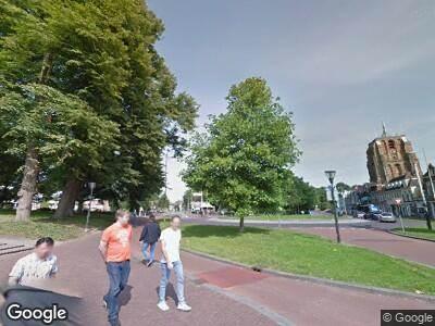 Politie naar Westerplantage in Leeuwarden vanwege ongeval met letsel