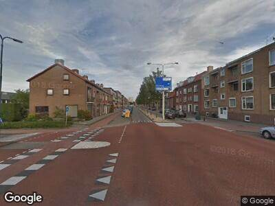 Traumahelikopter naar Paul Krugerstraat in Vlissingen