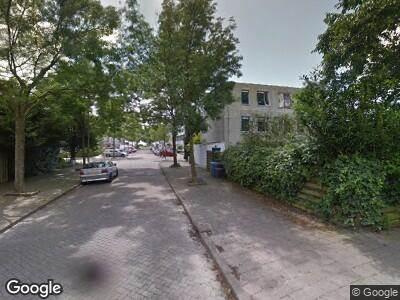 Ambulance naar Libanonstraat in Delft