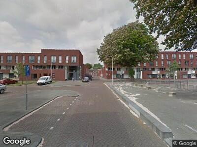 Brandweer naar Piet Heinstraat in Tilburg