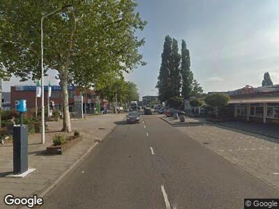Brandweer naar Rooseveltstraat in Leiden vanwege brand