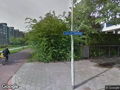 Politie naar Jacob van Campenweg in Rotterdam vanwege ongeval met letsel