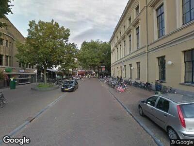 Brandweer naar Mariaplaats in Utrecht