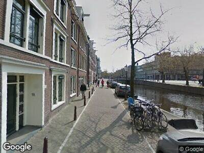 Brandweer naar Lijnbaansgracht in Amsterdam