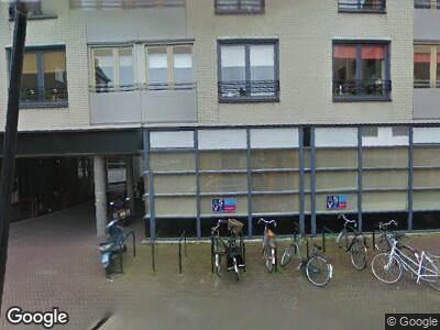 Ambulance naar De Waag in Dordrecht