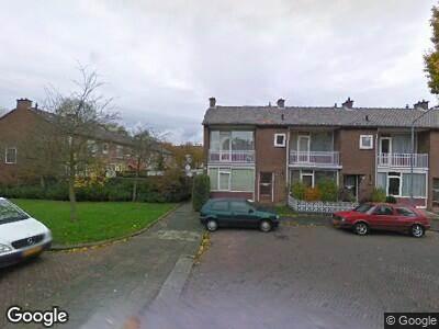 Ambulance naar Van den Heuvelstraat in Dordrecht