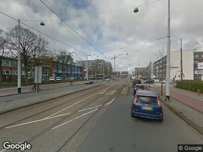 Brandweer naar Jan Tooropstraat in Amsterdam vanwege brand