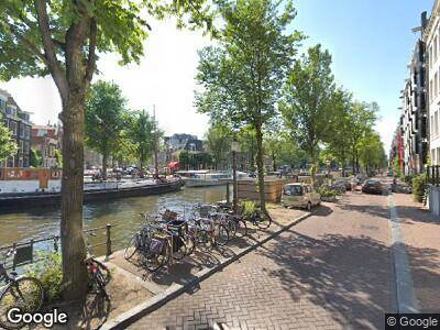 Brandweer naar Brouwersgracht in Amsterdam