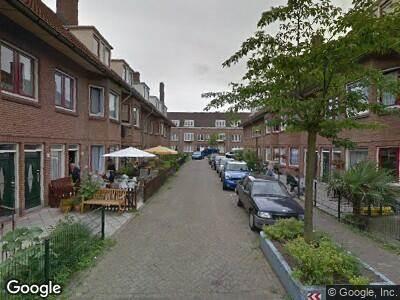 Brandweer naar Zwaluwstraat in Amsterdam