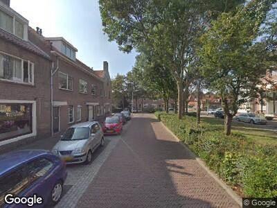 Ambulance naar Jan van Brakelstraat in Katwijk