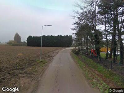 Ambulance naar Peperstraat in Oosterhout