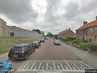 Ambulance naar Piet Heinlaan in Katwijk