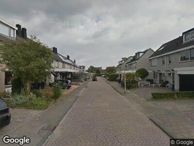 Ambulance naar Maarten Trompstraat in Hellevoetsluis