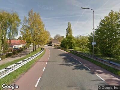 Ambulance met gepaste spoed naar Lagendijk in Ridderkerk