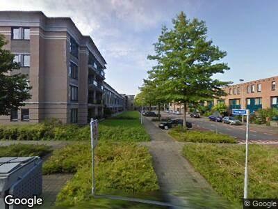 Ambulance met gepaste spoed naar Poortwacht in Leiderdorp