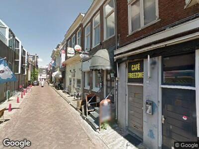 Politie met grote spoed naar Grote Hoogstraat in Leeuwarden vanwege ongeval met letsel