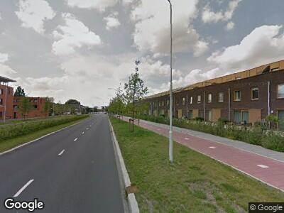 Ambulance naar Vincent van Goghweg in Zaandam vanwege verkeersongeval