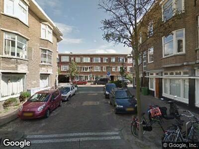 Ambulance met gepaste spoed naar Notenstraat in 's-Gravenhage