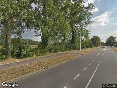 Politie naar Hilversumse Meentweg in Hilversum