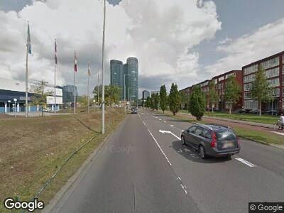 Politie naar Van Zijstweg in Utrecht