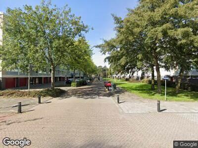 Ambulance met gepaste spoed naar Schout Van Eijklaan in Leidschendam
