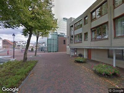 Ambulance naar Markt in Spijkenisse