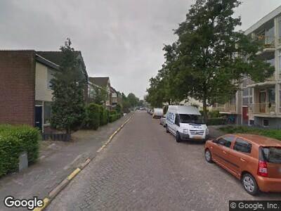Ambulance met grote spoed naar De Wetstraat in Ridderkerk