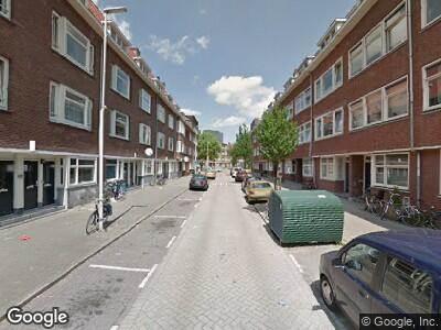 Ambulance met gepaste spoed naar Moerkerkestraat in Rotterdam