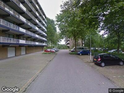 Ambulance met gepaste spoed naar Dunantstraat in Zoetermeer