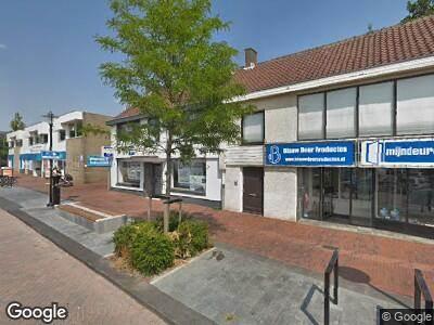 Ambulance met gepaste spoed naar Grachtweg in Lisse
