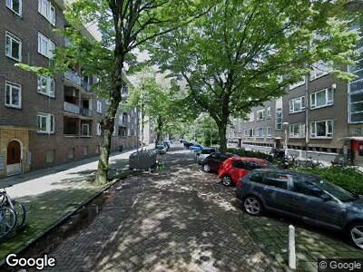Ambulance naar Granidastraat in Amsterdam