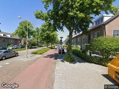 Ambulance met grote spoed naar Rembrandtweg in Amstelveen