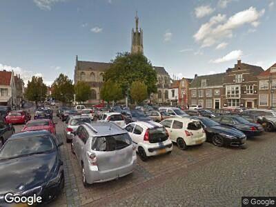 Politie met grote spoed naar Grote Markt in Hulst vanwege letsel
