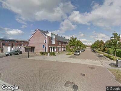 Ambulance met gepaste spoed naar Count Basielaan in Beverwijk