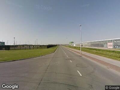 Ambulance met gepaste spoed naar Agriport in Middenmeer