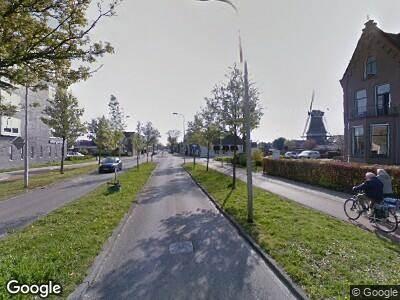 Brandweer met grote spoed naar Grote Kerkstraat in Hoogeveen