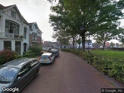 Ambulance met gepaste spoed naar Schouwtjesplein in Haarlem