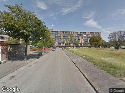 Brandweer met gepaste spoed naar Thomas Morestraat in Haarlem