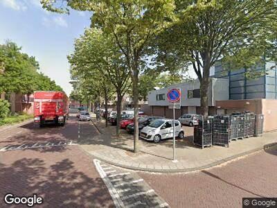 Ambulance naar Teylerstraat in Haarlem