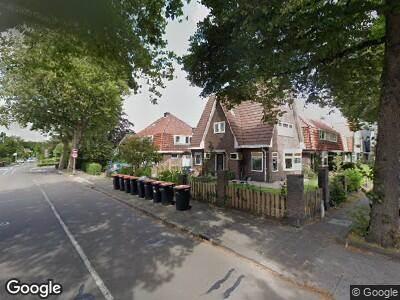 Ambulance met gepaste spoed naar Vondellaan in Beverwijk