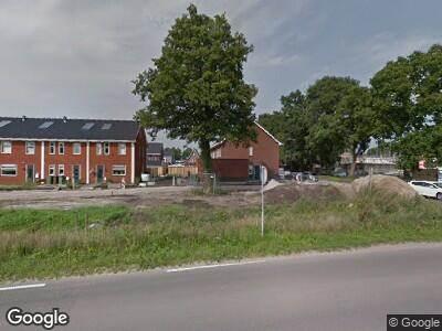 Ambulance met grote spoed naar Westzoom in Lunteren