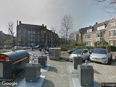 Brandweer met grote spoed naar Johannes Vermeerstraat in Amsterdam