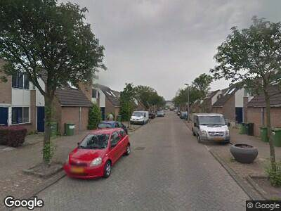 Ambulance met grote spoed naar Houdringeweg in Rotterdam