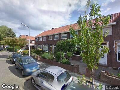Ambulance met gepaste spoed naar Vossiusstraat in Gouda