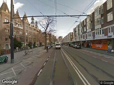 Ambulance met gepaste spoed naar Nieuwe Binnenweg in Rotterdam