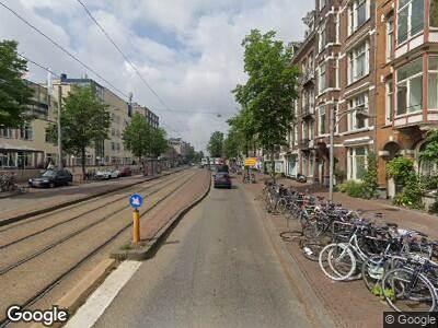 Besteld ambulance vervoer naar Overtoom in Amsterdam