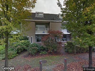 Ambulance met gepaste spoed naar Eykmanstraat in Schoonhoven